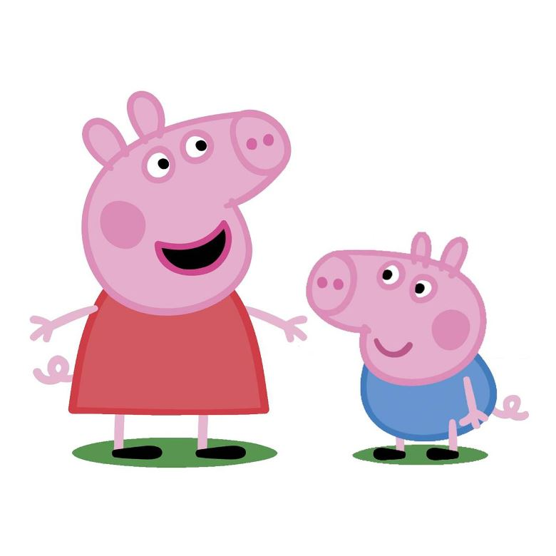 Peppa pig e un cartone animato inglese creato